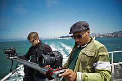 3D shoot on a Ferry boat