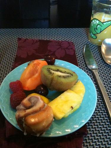Pre-breakfast