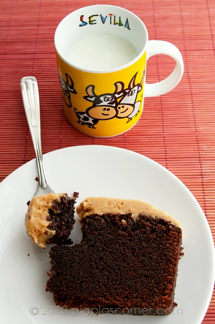Guinness Chocolate Cake with Peanut Butter Frosting 1