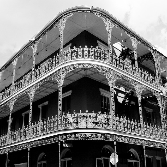 New Orleans Monochrome