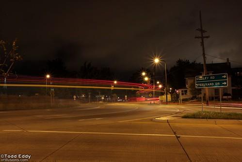 POTW: Roundabout Light Trails