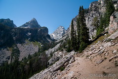 Jaw Dropping Gorgeous (Mark Griffith) Tags: outdoors climb nationalpark hiking hike climbing wyoming grandteton jacksonhole outing grandtetonnationalpark middleteton dsc8373 overnigher