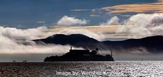 Alcatraz Island (Vern Krutein) Tags: sanfrancisco california city travel usa architecture bay structure prison american marincounty sanfranciscobay scenics alcatrazisland federalpenitentiary