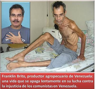 Franklin Brito una vida que se apagó por culpa de Chávez
