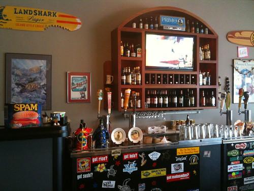 Patrick's Hawaiian Cafe bar