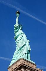 Liberty (Rafakoy) Tags: blue sculpture usa ny newyork france color colour monument colors statue digital liberty nikon colours manhattan gift statueofliberty neoclassical libertyisland newyorkharbor libertyenlighteningtheworld frédéricbartholdi october281886 aldorafaelaltamirano rafaelaltamirano aldoraltamirano