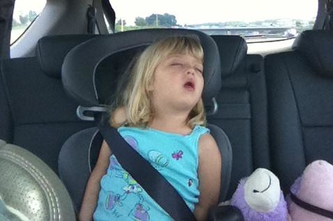 Driving to Charlotte makes us sleepy