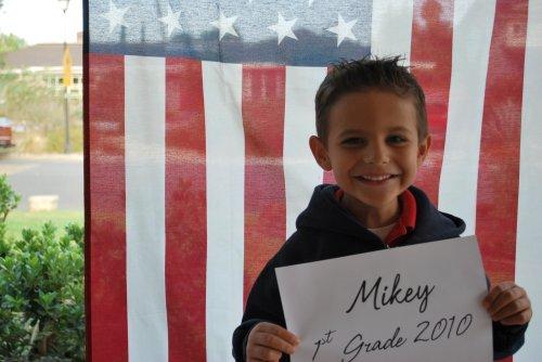 (m) 1st day of school 2010