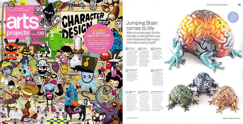 Computer Arts Character Design Pdf : Emilio garcia news and events
