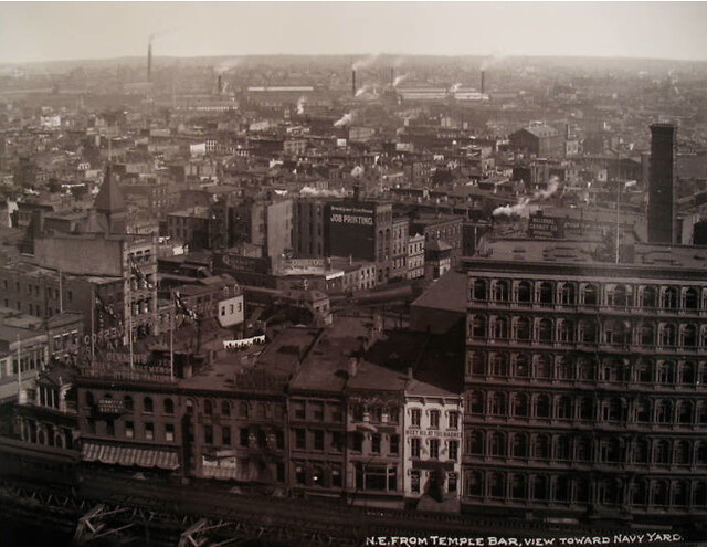Looking North East From Temple Bar Building 1912