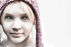 (Danielle_T) Tags: pink portrait game colour cute art halloween girl strange face childhood digital computer dark weird insane intense eyes pretty emotion head fear digitalart dream surreal freaky creepy spooky psycho scarey horror ann imagination nightmare unusual mad conceptual potrait lucid nasty holloween danielletunstall
