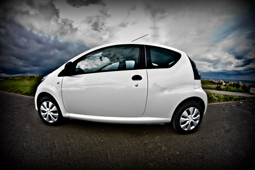 citroen c1 splash. Citroen C1 Splash White Fisheyed
