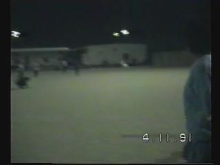 لقاء فيديو مع الأخ علي المسري و الأخ ابراهيم الزامل في ملعب الجمعية 1991