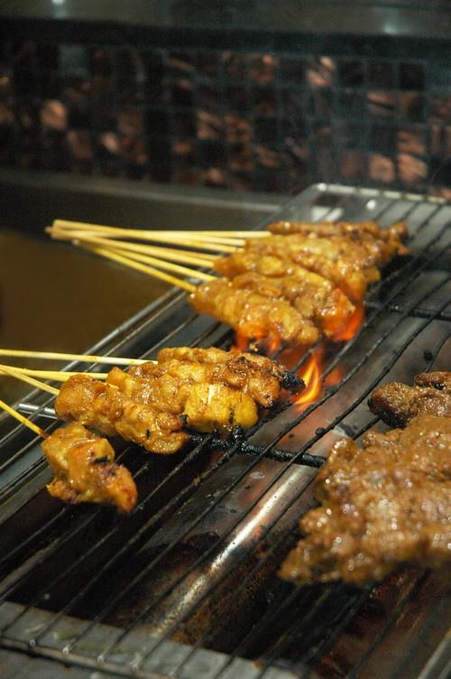 Scrumptious satay - chicken & beef