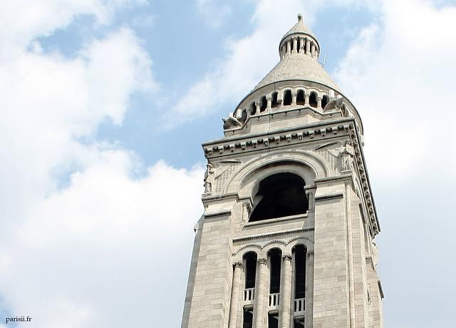 Clocher du Sacré Cœur de Montmartre