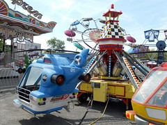 Zamperla Mini - Jets (trumpeterny) Tags: new york carnival food ny game field festival fun fire amusement day ride mechanical games days helicopter fireman rides chance trailer bridgeport midway amusements trailers hawkins deparment wixt hawkinsamusements hawkinsamusementrides