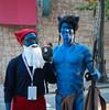 Papa Smurf and... a Navi from Avatar? (mjkjr) Tags: atlanta canon costume cosplay bokeh handheld dslr dragoncon 30303 1755mm 550d t2i clubsi dragoncon2010 mjkjr httpwwwflickrcomphotosmjkjr