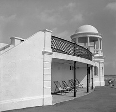 A Study in Four Parts #1 (biker500) Tags: sussex gazebo rodinal foley foma bexhill balda