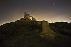 Mow Cop Star Trail ([Nocturne]) Tags: nightphotography nocturne startrail mowcop earthandspace noctography Astrometrydotnet:status=failed wwwnoctographycouk competition:astrophoto=2011 Astrometrydotnet:id=alpha20110133989931