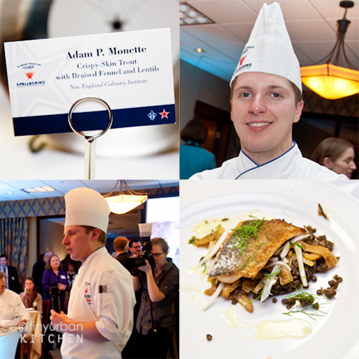 Adam P. Monette of New England Culinary Institute