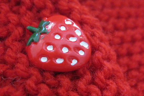 Strawberry button