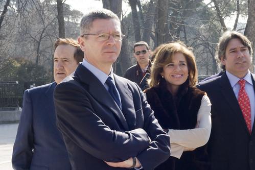 Gallardon y Ana Botella