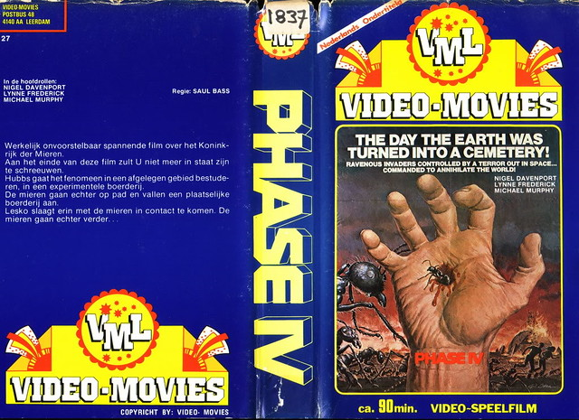 Phase IV (VHS Box Art)