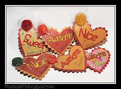 Cricut Valentine Cards (KansasA) Tags: canon hearts valentine cricut t2i cricutexpression