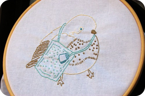 Hoop Up for quiltnookgal / Cara