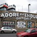 'Let's Adore and Endure Each Other' by Espo, Village Underground, Shoreditch, London