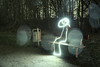 Lightpainting Bench (kirberich) Tags: park light lightpainting night bench dwcfflightpaint