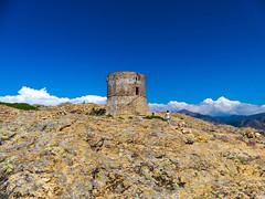 Turghiu Tower, Capo Rosso (Audrey.Hell) Tags: tower tour capo rosso corse corsica ile island beauté roadtrip rando trek view panorama stone summer color turghiu