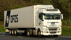 RO - DFDS MAN TGX XLX (BonsaiTruck) Tags: dfds man tgx lkw lastwagen lastzug truck trucks lorry lorries camion