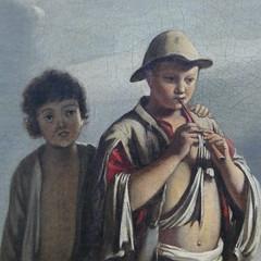 Louis Le Nain: La Halte du cavalier (neppanen) Tags: sampen discounterintelligence pariisi paris france ranska art taide kuvataide maalaustaide maalaus painting picassomuseo muséepicasso louislenain cavalier