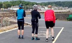 Flying Scot Group's Millport Ride. (Paris-Roubaix) Tags: the flying scot bicycle group ride millport cumbrae ayrshire largs caledonian macbrayne ferry vintage scottish racing bikes