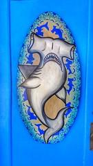 Rockport Rocks (baxwrtr) Tags: rockport texas beach seaside mural art sculpture street