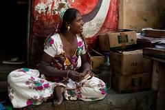 Neeraj Bhagia (Tito Dalmau) Tags: street portrqair woman nakhatrana kuch gujarat india