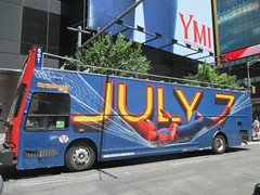 Spider-Man Homecoming Bus Ad 2017 NYC 8273 (Brechtbug) Tags: spiderman homecoming bus ad movie poster billboard 49th street 7th avenue 2017 nyc super hero marvel comic comics character spider man new york city film billboards standee theater theatre district midtown manhattan amazing home coming ads advertising hammock cel phone cell mobile cellphone