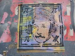 street art (duncan) Tags: graffiti streetart hackney einstein