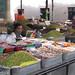 Market stalls in Turpan