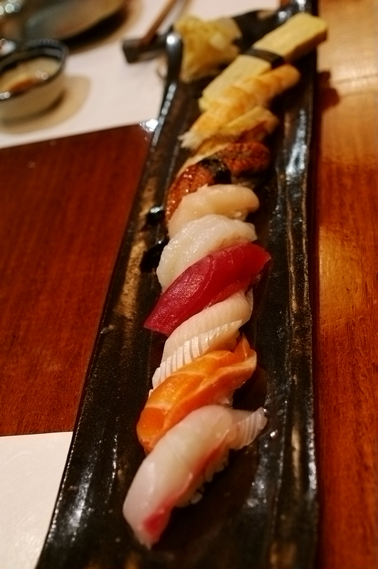 Chef Selection of Nigiri Sushi