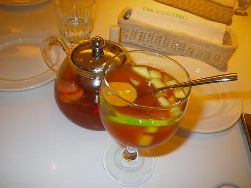 仲夏熱帶水果冰茶