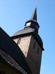 Kyrktorn - churchtower (Yvonne L Sweden) Tags: summer sweden churchtower sverige eskilstuna sommar kyrktorn forskyrka forschurch