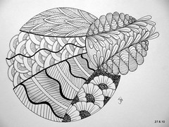 No Provenance (Jo in NZ) Tags: pen drawing line doodle innk zentangle nzjo zendoodle