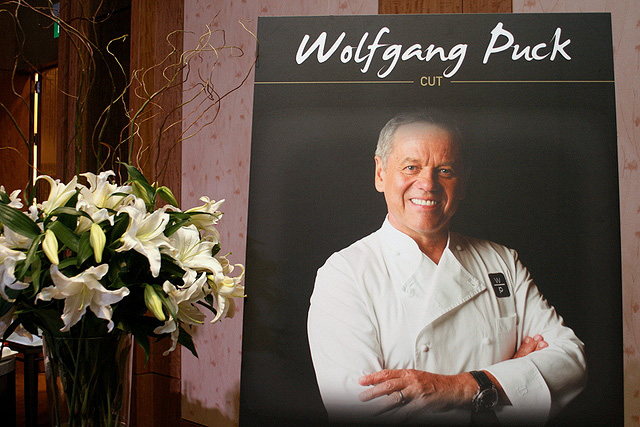 Wolfgang Puck's restaurant called CUT will be at the Retail Mall