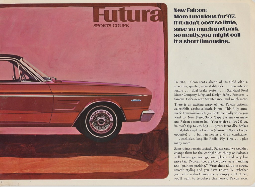 1967 Ford Futura Sports Coupe pt.2