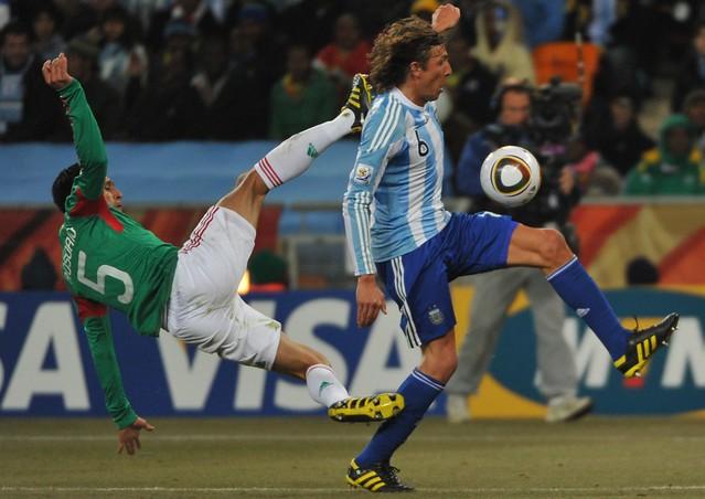 Mundial Sudáfrica Argentina México Gabriel Heinze
