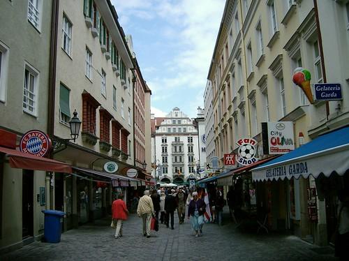 Calles de Munich Foto 2