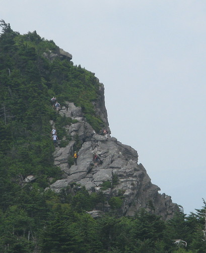 Hikers near MacRae Peak