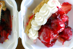 berries and cream! berries and cream! (jslander) Tags: pie losfeliz houseofpies pecanpie cherrypie strawberrypie lemonmeringuepie peachpie